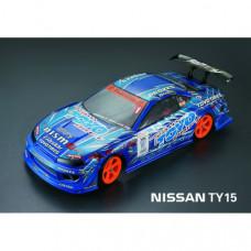 Кузов не окрашенный Nissan Silvia TY15 со спойлерами и комплектом стайлинга