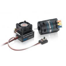 Сенсорная бесколлекторная система XERUN XR10 Justock 21.5T для on-road моделей масштаба 1:10
