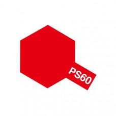 Краска по лексану Tamiya PS-60 Bright Mica Red (100 мл)