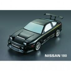 Кузов Nissan 180sx RPS13 не окрашенный с отражателями, спойлерами и комплектом стайлинга