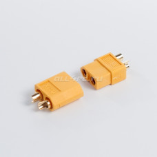 XT60 Male / Female LiPo LiFe NiMh Battery Connectors Yellow