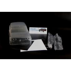 Кузов не окрашенный Ваз 2106 для моделей 1:10 с отражателями и набором декалей, штучное производство