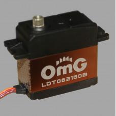 Сервомашинка стандартная бесколлекторная цифровая с титановыми шестернями LDT062150B