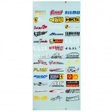 Наклейки бренды 12-2