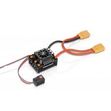 Бесколлекторный бессенсорный влагозащищенный регулятор EZRUN MAX8 V3 XT90 для шот-корс, багги, монстров масштаба 1:8