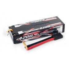 Аккумулятор Sunpadow Li-Po 3S1P 4200mAh 40C/80C TRX Hardcase
