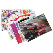 Набор наклеек для моделей Japanese Samurai (3 листа)