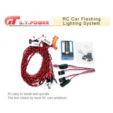 RC Car Flashing Lighting System