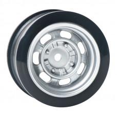 Комплект дисков серии JDM Style, 4 шт., 7 спиц, серебристые, вылет 6мм