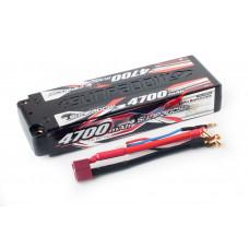 Аккумулятор Sunpadow Li-Po 2S1P 4700mAh 40C/60C T-Plug (Deans) Hardcase