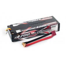 Аккумулятор Sunpadow Li-Po 3S1P 4200mAh 40C/80C T-Plug Hardcase