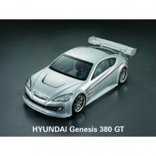 Кузов не окрашенный Hyundai Genesis с отражателями и спойлером