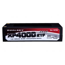 Li-Po Dualsky Hard case 7.4v 4000mAh 60C