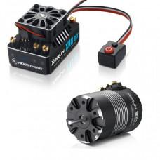 Бесколлекторная сенсорная система Xerun COMBO XR8 SCT 3652SD A для моделей масштаба 1:10