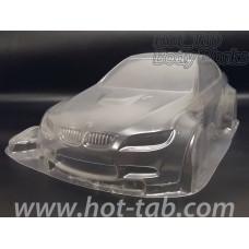 Кузов не окрашенный для моделей 1:10 с набором декалей E92, штучное производство