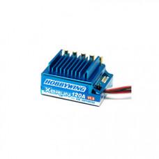 Бесколлекторный сенсорный регулятор Xerun 120A-SD Blue Spirit edititon для автомоделей масштаба 1:10 синий