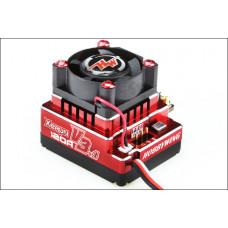 Бесколлекторный сенсорный регулятор Xerun 120A-v3.1 Red для автомоделей масштаба 1:10 красный