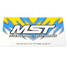 MST Sticker 34X19
