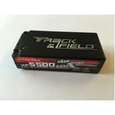 Li-Po Dualsky Short Hard case 7.4v 5500mAh 2S2P 90C