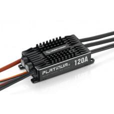 Бесколлекторный регулятор Platinum 120A-V4 для авиа моделей
