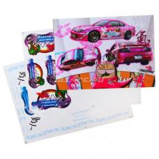 Набор наклеек для моделей Yashio Factory (2 листа)