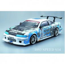 Кузов Nissan Silvia S14 не окрашенный, со спойлерами и комплектом стайлинга