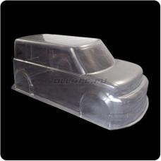Кузов не окрашенный Toyota bB для моделей 1:10 с набором декалей, штучное производство