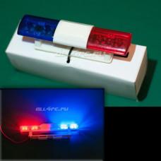 Люстра полицейская для автомоделей масштаба 1:10