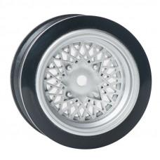Комплект дисков серии JDM Style, 4 шт., серебристые, вылет 3мм