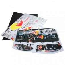 Набор наклеек для моделей Red Bull (2 листа)