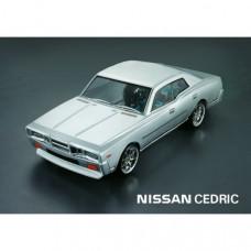 Кузов не окрашенный Nissan Cedric с отражателями, масками и наклейками