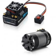 Бесколлекторная сенсорная система Xerun COMBO XR8 SCT 3660SD B для моделей масштаба 1:10
