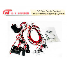 RC Car Radio Control and Flashing Lighting System