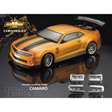 Кузов Chevrolet Camaro не окрашенный с отражателями, спойлерами и комплектом стайлинга