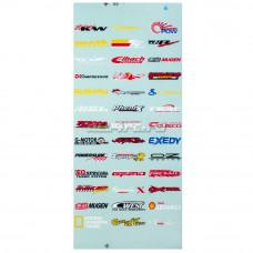 Наклейки бренды 12-3