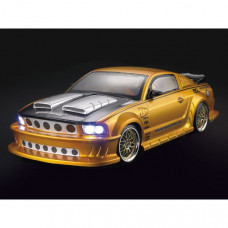 Кузов FORD Mustang GT350 не окрашенный с отражателями и спойлером