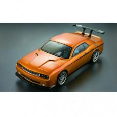 Кузов неокрашенный Dodge Challenger SRT8 2012 без отражателей, со спойлерами и комплектом стайлинга