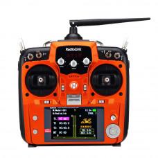 Аппаратура управления RadioLink AT10II 12-ти канальная 2,4 Ghz