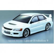 Кузов Mitsubishi Lancer Evolution 9 с отражателями и спойлером