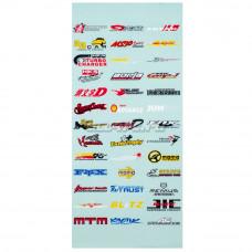 Наклейки бренды 12-1