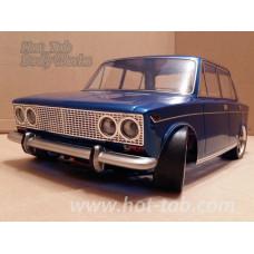 Кузов не окрашенный Ваз 2103 для моделей 1:10 с отражателями и набором декалей, штучное производство