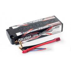 Аккумулятор Sunpadow Li-Po 2S2P 7600mAh 45C/90C T-Plug Hardcase
