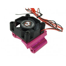 Alum. Motor Mount Heatsink with Fan Mount For Sakura D3