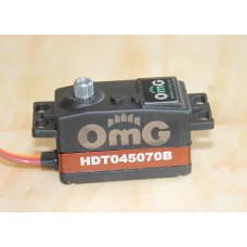 Сервомашинка стандартная бесколлекторная цифровая со стальными шестернями HDT045070B