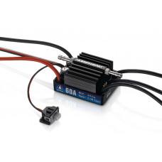 Бесколлекторный бессенсорный влагозащищенный регулятор Seaking 60A V3.1