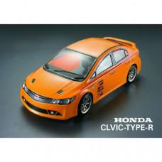 Кузов не окрашенный Honda Civic Type R, с отражателями