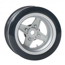 Комплект дисков серии JDM Style, 4 шт., 4 спицы, серебристые