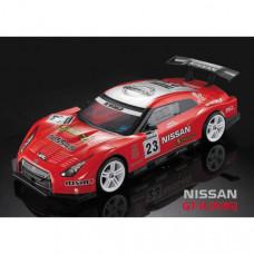 Кузов Nissan GTR (R35) не окрашенный с отражателями, спойлерами и дворниками
