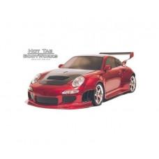 Кузов не окрашенный Porshe 997 GT для моделей 1:10 с отражателями и набором декалей, штучное производство