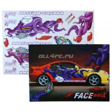 Набор наклеек для моделей 22 Nasty Octopus (1 лист)